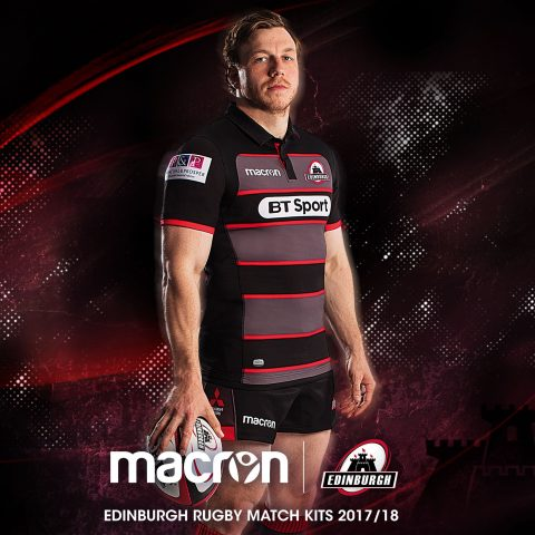 The new Edinburgh home kit for 2017/2018