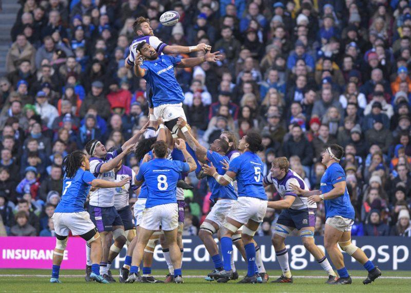 Scotland v Samoa by Al Ross