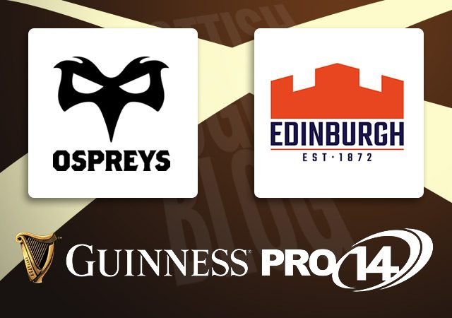 Ospreys v Edinburgh