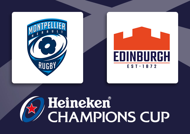 Montpellier v Edinburgh