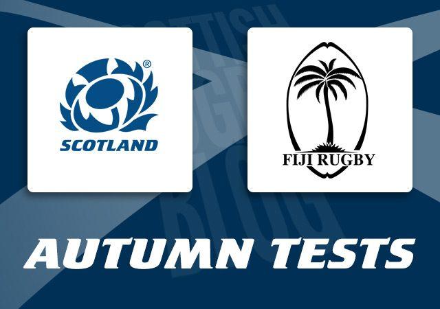 Scotland v Fiji