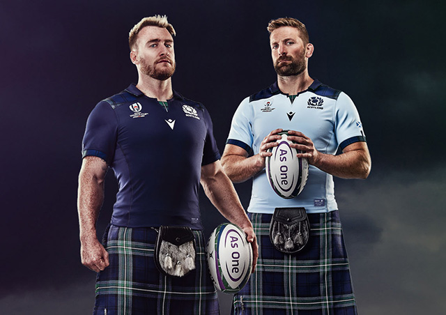 Scotland Rugby World Cup Kit