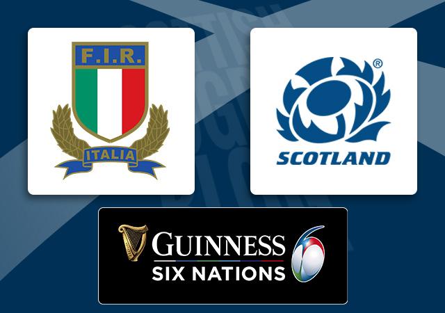 Italy v Scotland